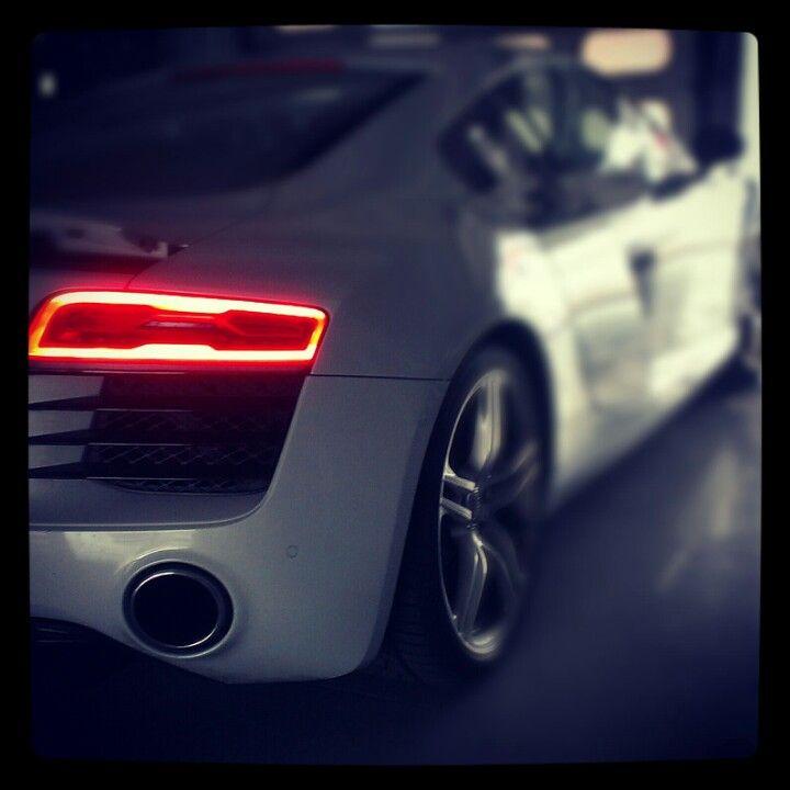 #Audi #R8 V10 ready to roll on the racetrack #Hockenheimring