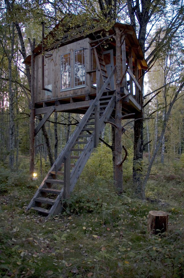Urnatur eco hermitage in Odeshög, Sweden.