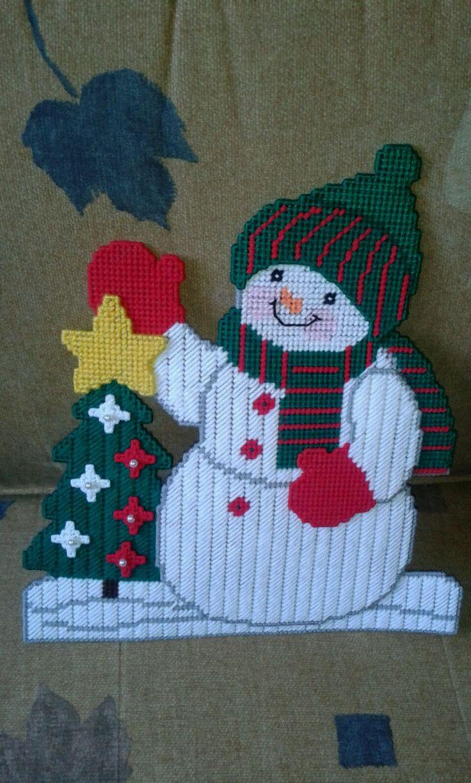 Mu eco de nieve navidad en plastic canvas pinterest - Lonas de plastico ...