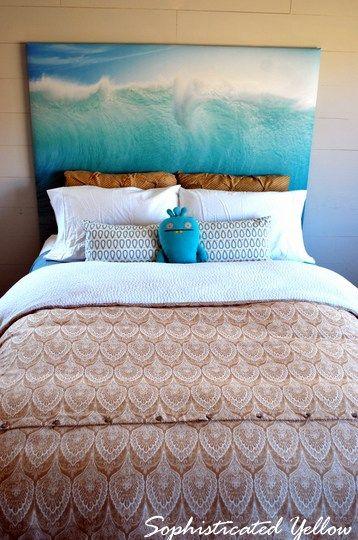Best 25 Shower Curtain Headboard Ideas On Pinterest