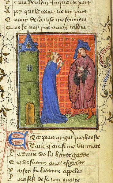 Roman de la Rose, MS M.245 fol. 22v - Images from Medieval and Renaissance Manuscripts - The Morgan Library & Museum