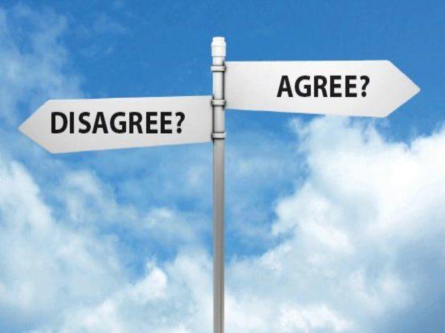 Anglický slovník: překlad slova disagree