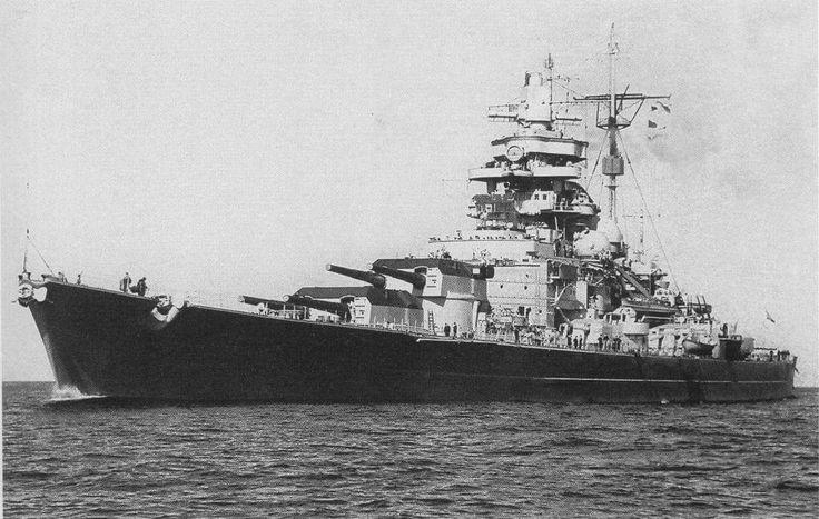 German Battleship - Tirpitz!