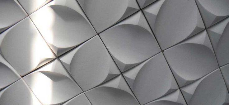 dune - gypsum wall tile hand made canada toronto