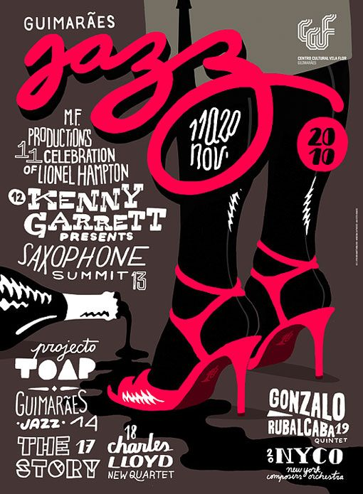 type-lovers:    JAZZ POSTER  Designed by Martino & Jaña
