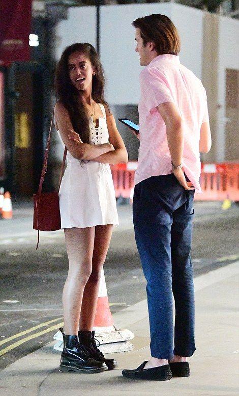 Malia Obama Spotted In London With Her British Boyfriend