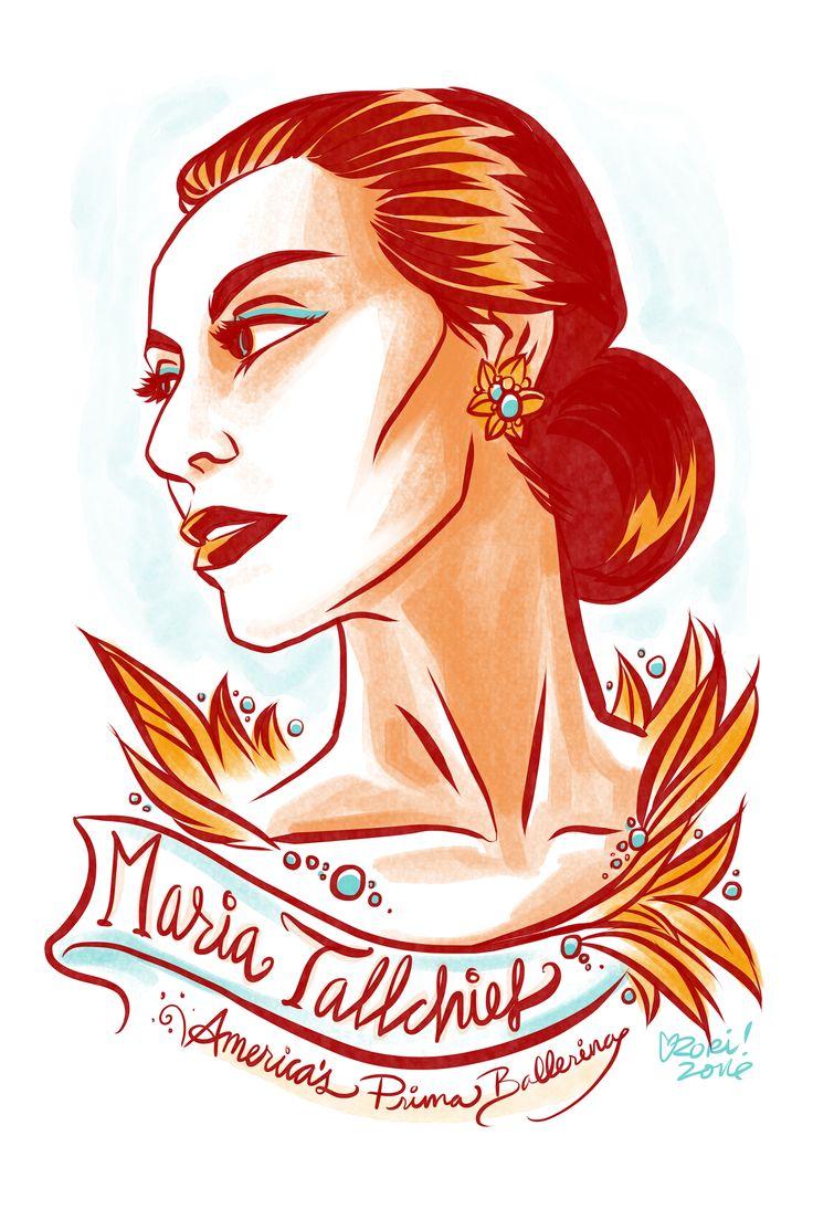 #100Days100Women Day 7: Maria Tallchief, America's first prima ballerina and member of the Osage Nation: https://en.wikipedia.org/wiki/Maria_Tallchief