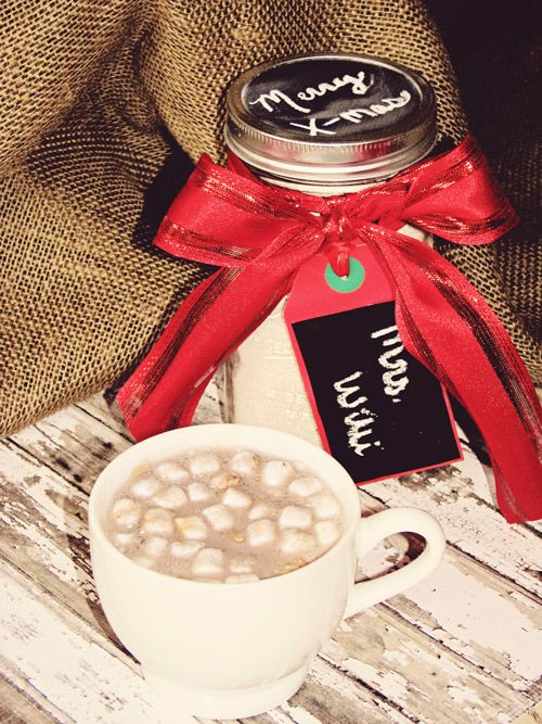 Hot Chocolate Malt Recipe Gift In A Jar This Christmas malt