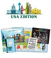 Little Passports is a subscription service that delivers a fun package to your door each month.  Join Sam and Sofia as they travel around the world and learn about different countries in the World Edition or sign up for the USA Edition and learn about two new states each month.  Each package contains lots of goodies including pictures, letters and souvenirs.  You will also have access to online activities and resources. The World Edition is recommended for ages 5-10