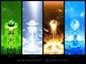 I quattro elementi e l'evoluzione personale