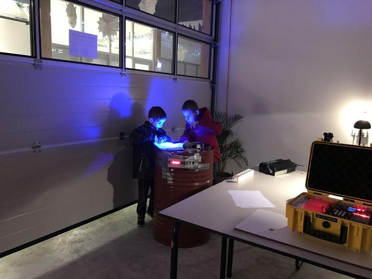 Mini escaperoom at Samson Electronics Service