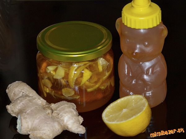 ZÁZVOROVO CITRÓNOVÝ MED PROTI KAŠĽU-Can anyone translate this recipe for me?I already know it is lemon, honey and ginger, just mix?