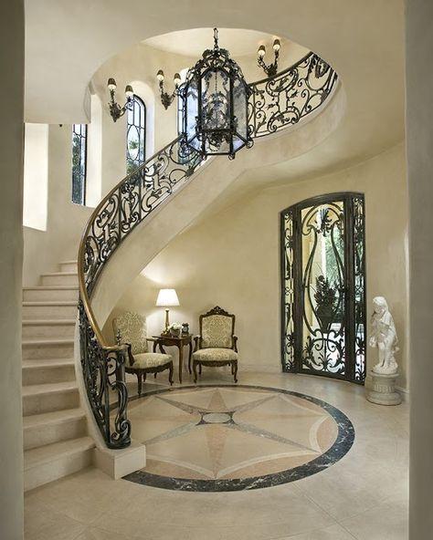 C mo dise ar espectaculares escaleras de hierro forjado - Escaleras de hierro forjado ...