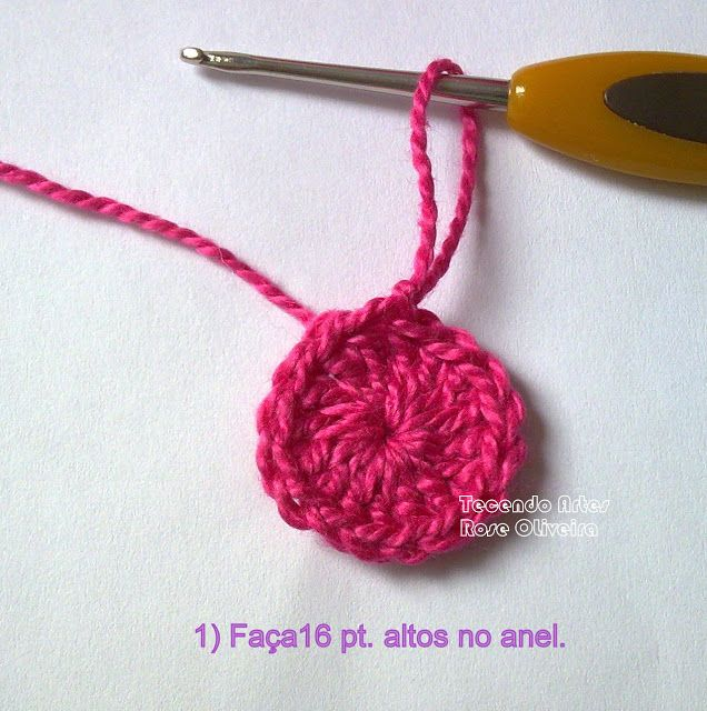 Tecendo Artes em Crochet: Passo a passo da Corujinha Dorminhoca!