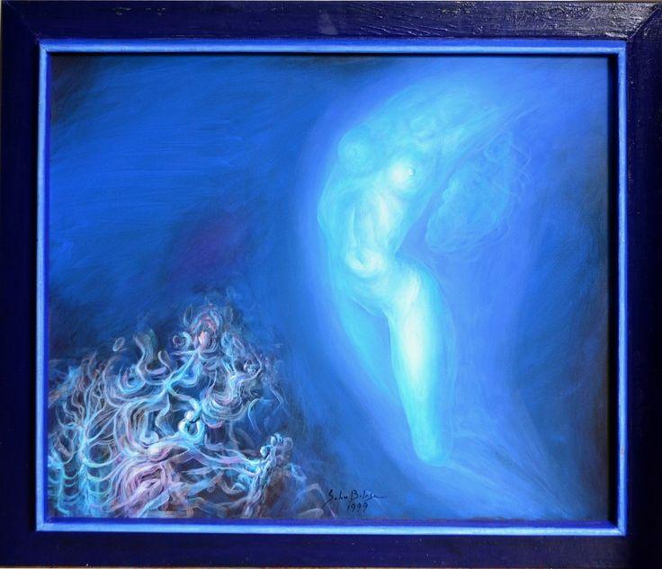 Sabin Bălașa - Nimfă albastră
