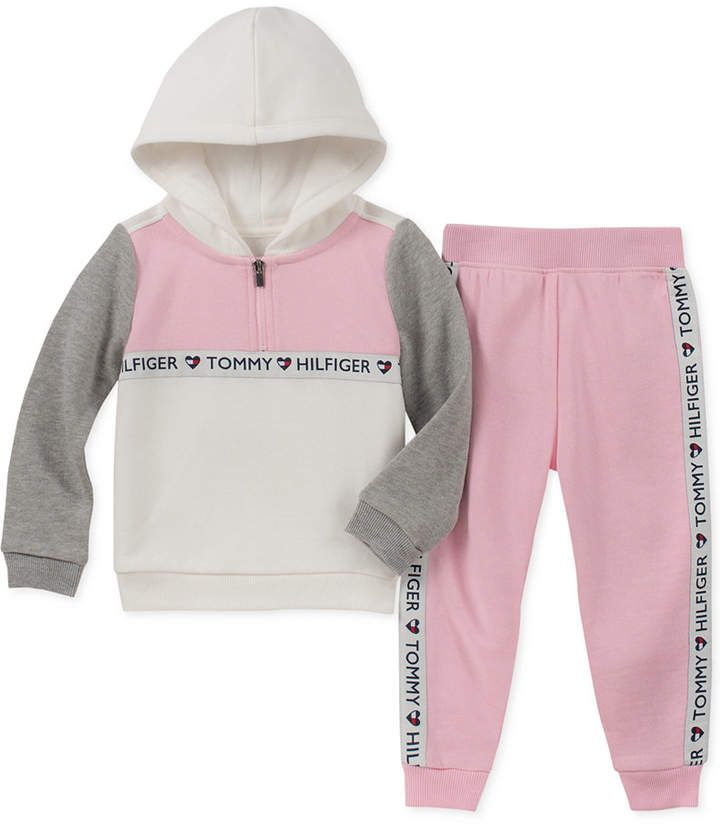 Tommy Hilfiger Girls 2 Pieces Jog Set