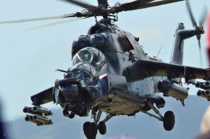 Attack Helicopter | Russian Mi-35 Attack Helicopter - The Flying Tank ~ INDIAN DEFENSE ...