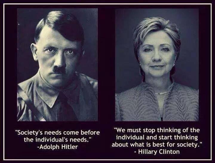 A scary political statement that harkens back to a horrifying time period....