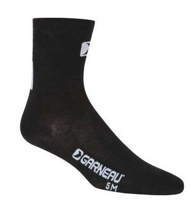 Louis Garneau Flandre Sock Black-All Sizes