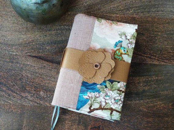 Bibel Buch Journal Cover handgemacht mit abnehmbaren von arjelia
