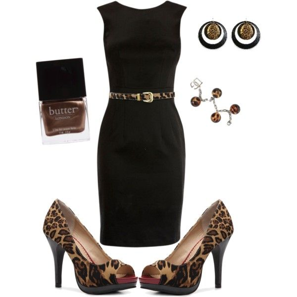 Leopard, created by shemshay on Polyvore