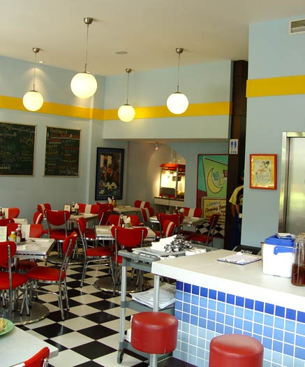 Fun to do in a basement! 50s diner:)