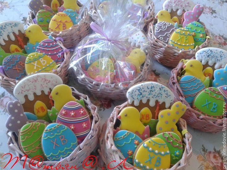 Купить Пасхальные пряничные наборы! - Праздник, пасхальный сувенир, Пасха, подарок, пряники ручной работы