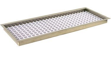 Fdt 5508 Flush Mount Beer Drip Trays 8 Stainless Steel Plastic Grid Drip Tray Metal Grid