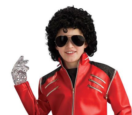 Silver Micheal Jackson Gloves - This glove is essential for any thriller fan. This white glove has silver sequins sewn on all over it and is easy to slip on and off. One size fits most. This is a childs glove, also avaiable in adult sizes. Great for all Michael Jackson Halloween costume #thriller #yyc #costume #gloves
