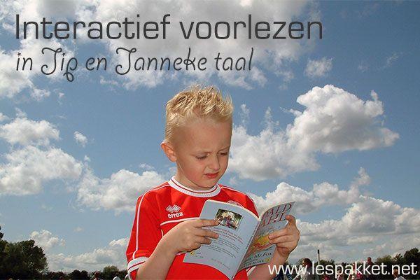Interactief voorlezen in Jip en Janneke taal - jufBianca.nl - waarom - hoe - activiteiten