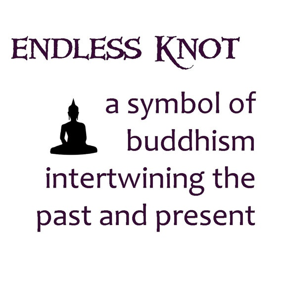 the meaning of the endless knot #buddhism #etsy #buddha