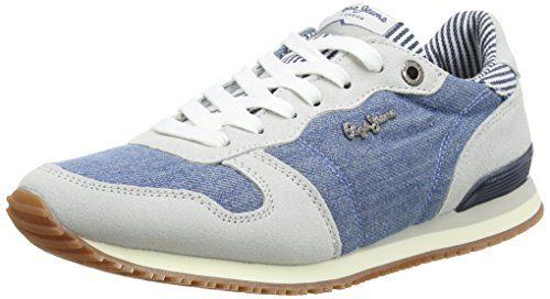 Pepe Jeans London GABLE STRAPS, Damen Sneakers, Blau (576WASHED NAVY), 41 EU Pepe Jeans http://www.amazon.de/dp/B0169TXAR0/ref=cm_sw_r_pi_dp_MBt4wb0EHXZSK