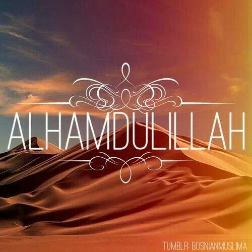 Alhamdoulilah