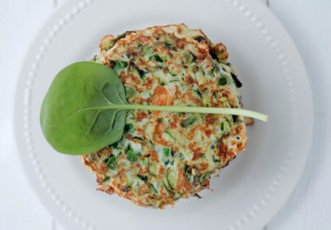 Paleo Zucchini Fitters, by The Healthy Chef. Grain-free, sugar-free, dairy-free. Image Credit: TheHealthyChef.com