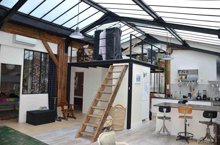 Ancien atelier transformé en loft - Paris - 75002 - www.casa-ferrandi.com