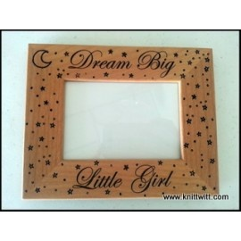 """Engraved Picture Frames - Use promo code """"PINTEREST"""" on www.knittwitt.com for a 25% discount!"""