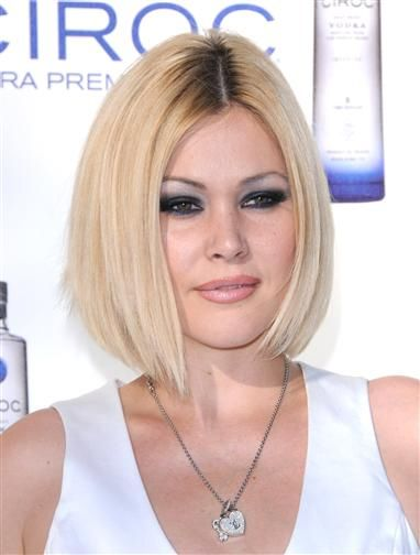 Shanna Moakler's cute hairstyle