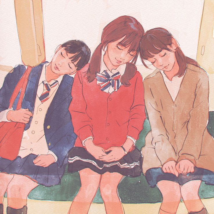 (2) 落書き13 [4]@子墨语采集到插画——灵感素材(1971图)_花瓣