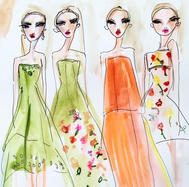 1000 Images About Fashion Illustrations On Pinterest: 1000+ Images About Illustrations On Pinterest