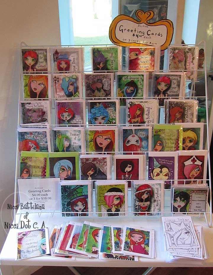 greeting card display