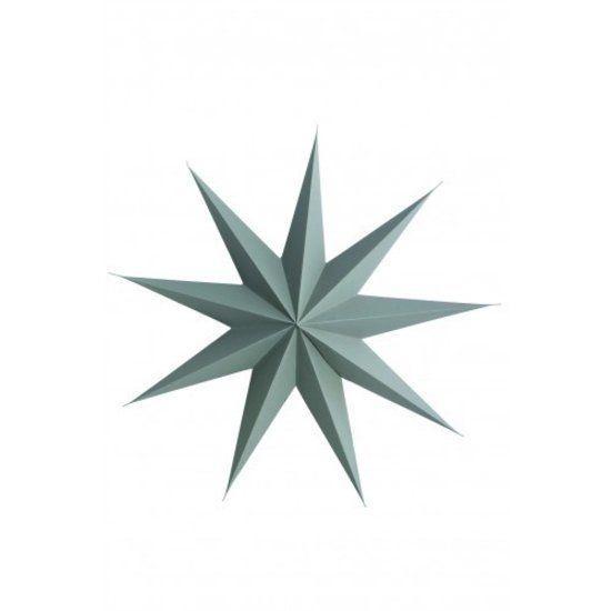 Papieren ster van Housedoctor 9 punt 60 cm grijs
