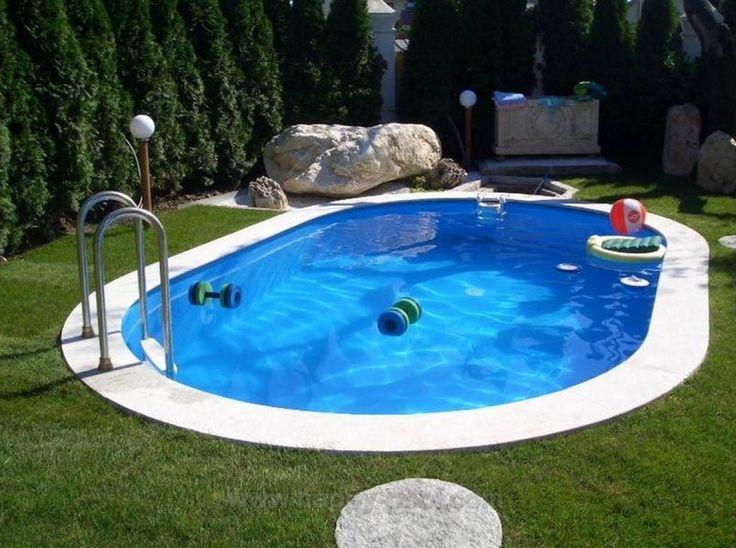 25 beste idee n over zwembaden op pinterest zwembaden for Zwembad kunststof