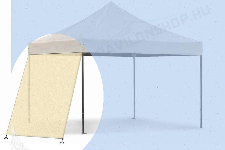 Növeljen teret a pavilonshop egyedi oldalfalaival. Átlagos alapterület növelés 6nm / oldal. http://pavilonshop.hu