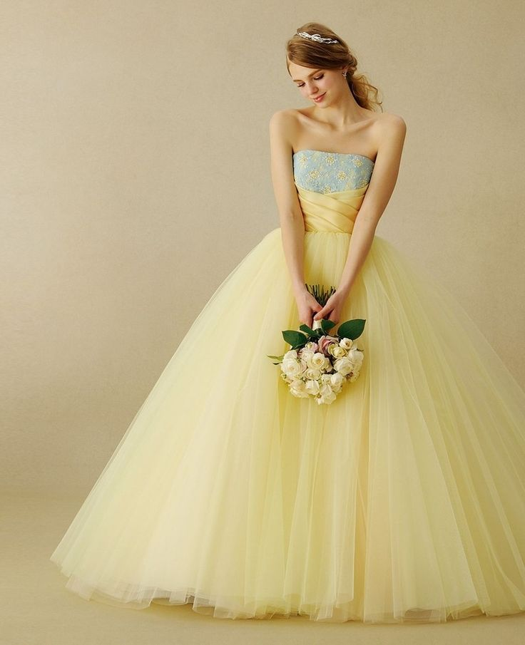 Yellow Wedding Dress ~