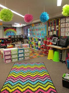 Seusstastic Classroom Inspirations: Loads of Classroom Inspiration  This is EXACTLY what I want my classroom to look like!