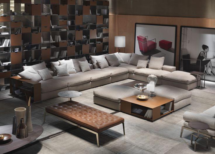 flexform salone del mobile 2014 home deco. Black Bedroom Furniture Sets. Home Design Ideas