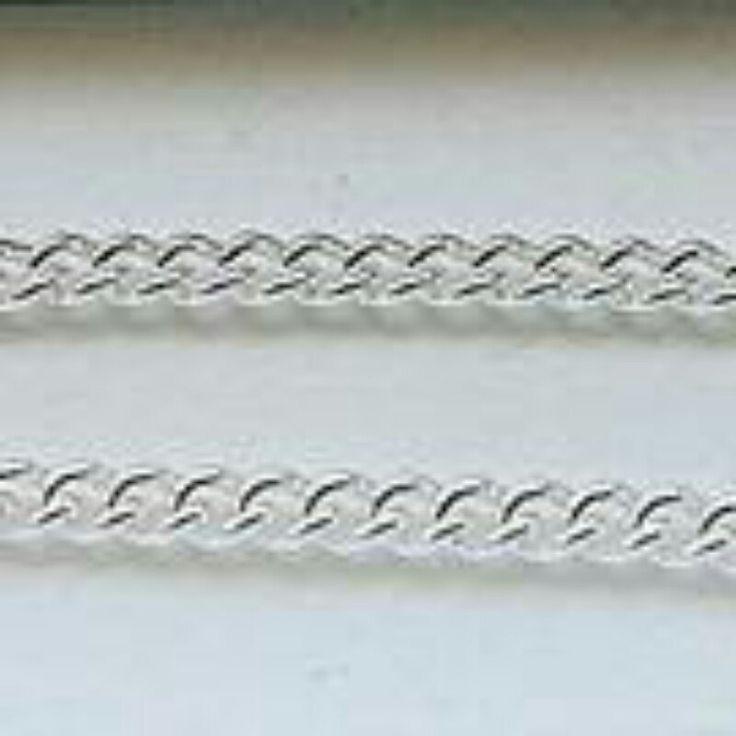 Solid Silver charm bracelet. 9g. Hallmarked . Excellent value.