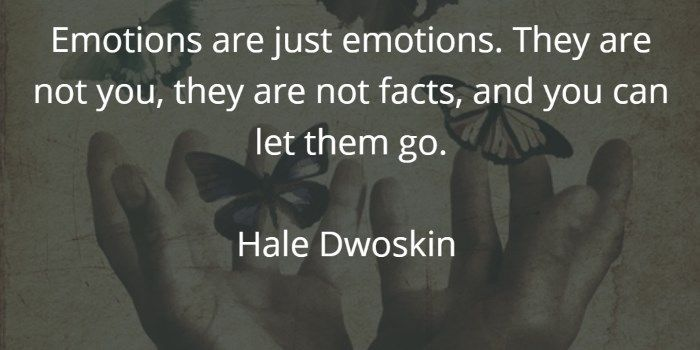 Don't worry when hidden emotions surface during meditation and make you cry. Let them go.