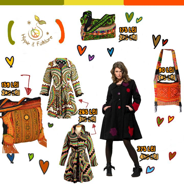 Promotii de octombrie la Haine Hippie! ॐ www.hainehippie.ro/6-promotii