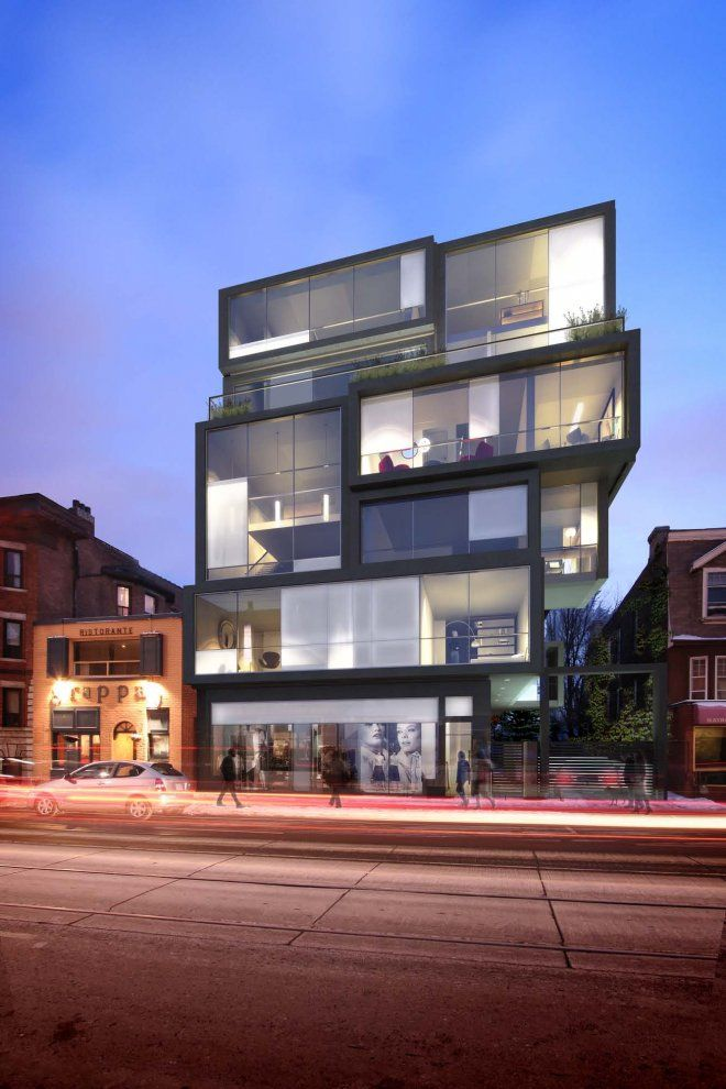 Cube Lofts in Toronto by RAW Architecture